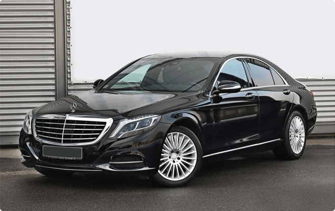 Gdansk Luxury Sedans - Mercedes Benz S Class W222 Long - Front View