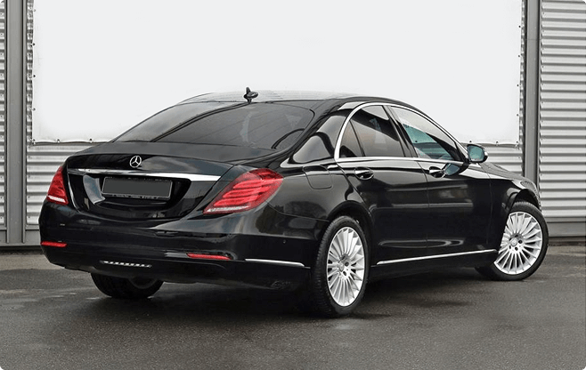 Gdansk Luxury Sedans - Mercedes Benz S Class W222 Long - Back View