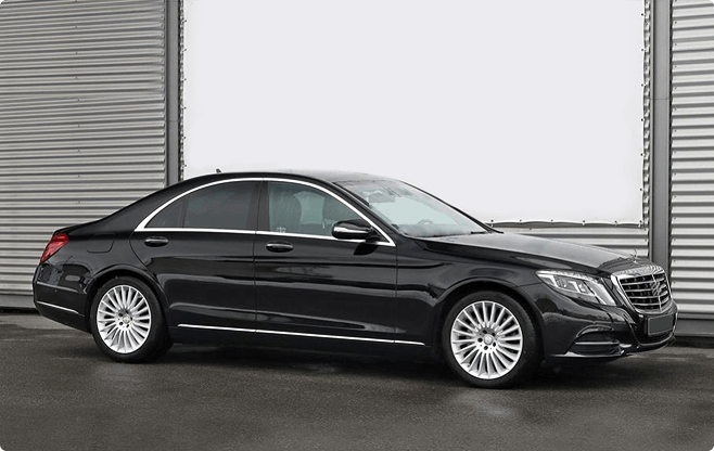 Gdansk Luxury Sedans - Mercedes Benz S Class W222 Long - Side View